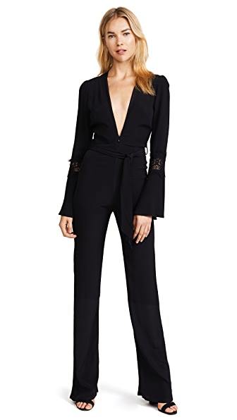 Stone Cold Fox Stevie Jumpsuit In Black