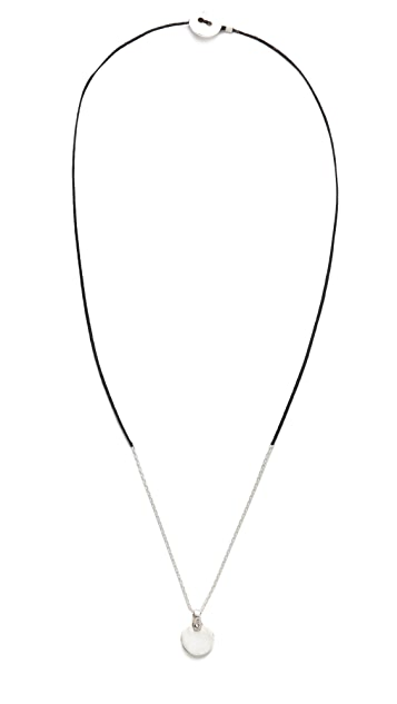 Scosha Circle Braid Necklace