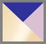 Gold/Blue/Lavender