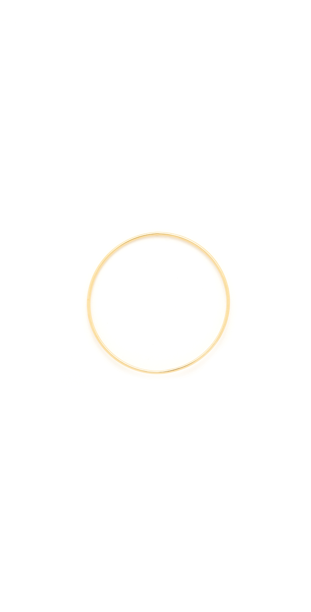 14k Gold Wire Circle Earring Saskia Diez