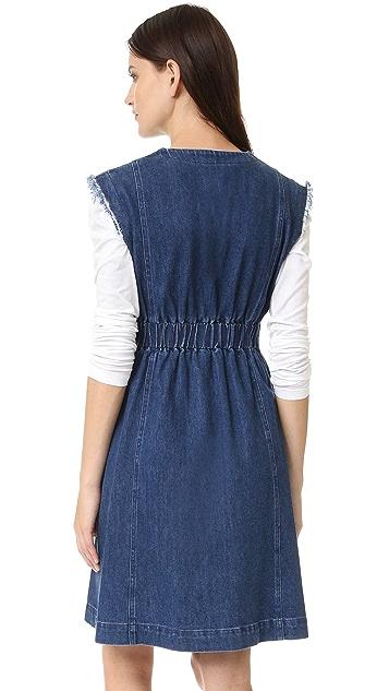 Sea Tied Denim Dress