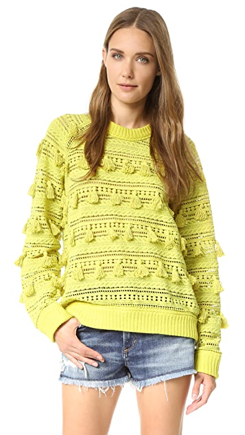 Sea Tassel Sweater