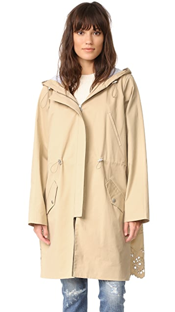 Sea Combo Eyelet Jacket