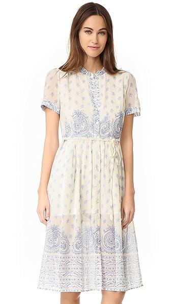 Sea Jane Border Print Dress