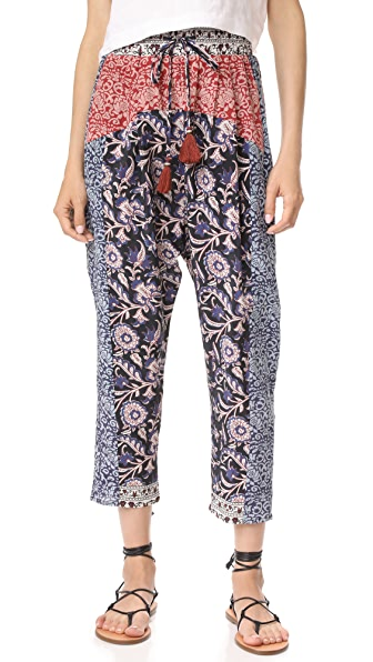 Sea Mix Print Pants - Multi/Mix Print