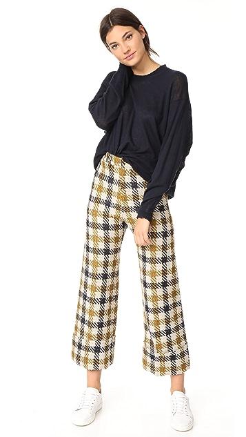 Sea Cuffed Pants