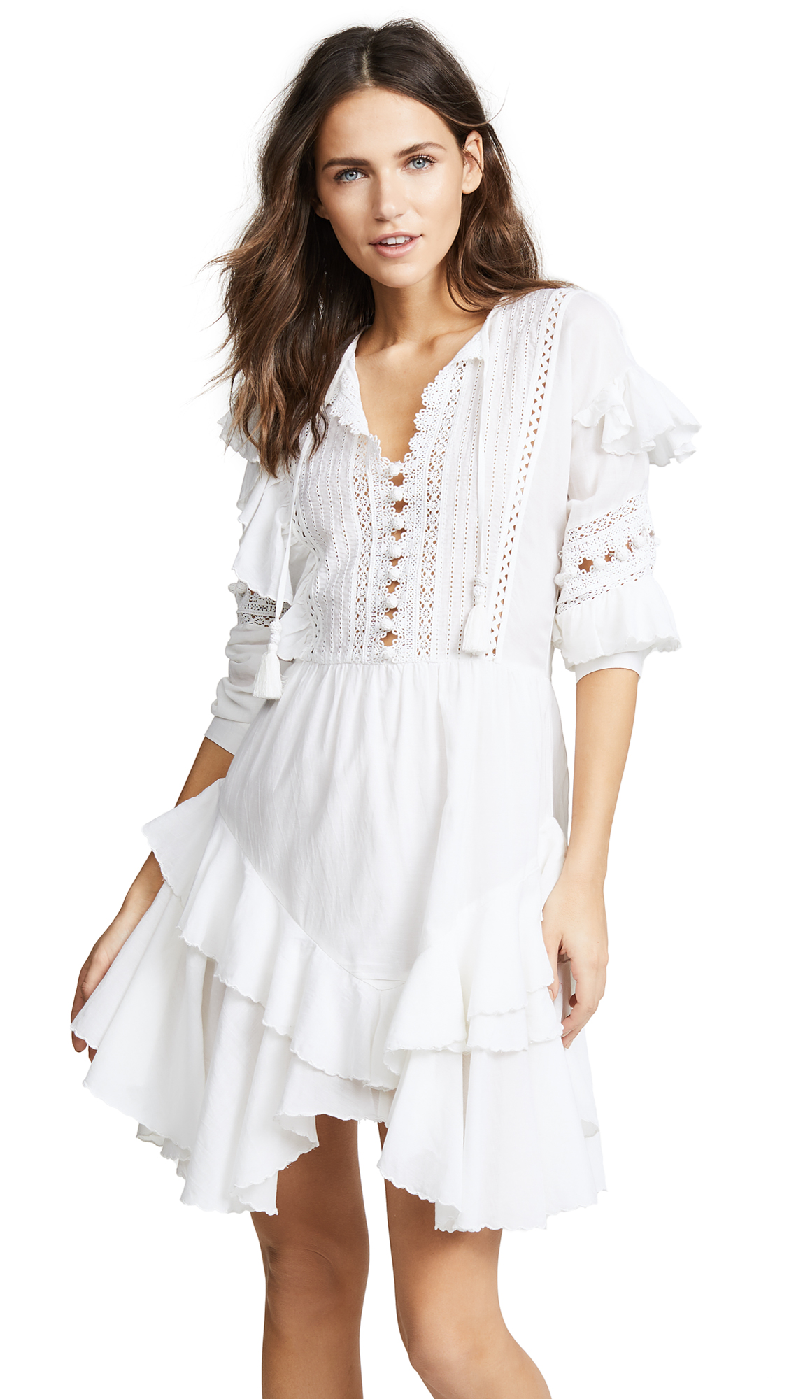Sea Weatherly Dress In White