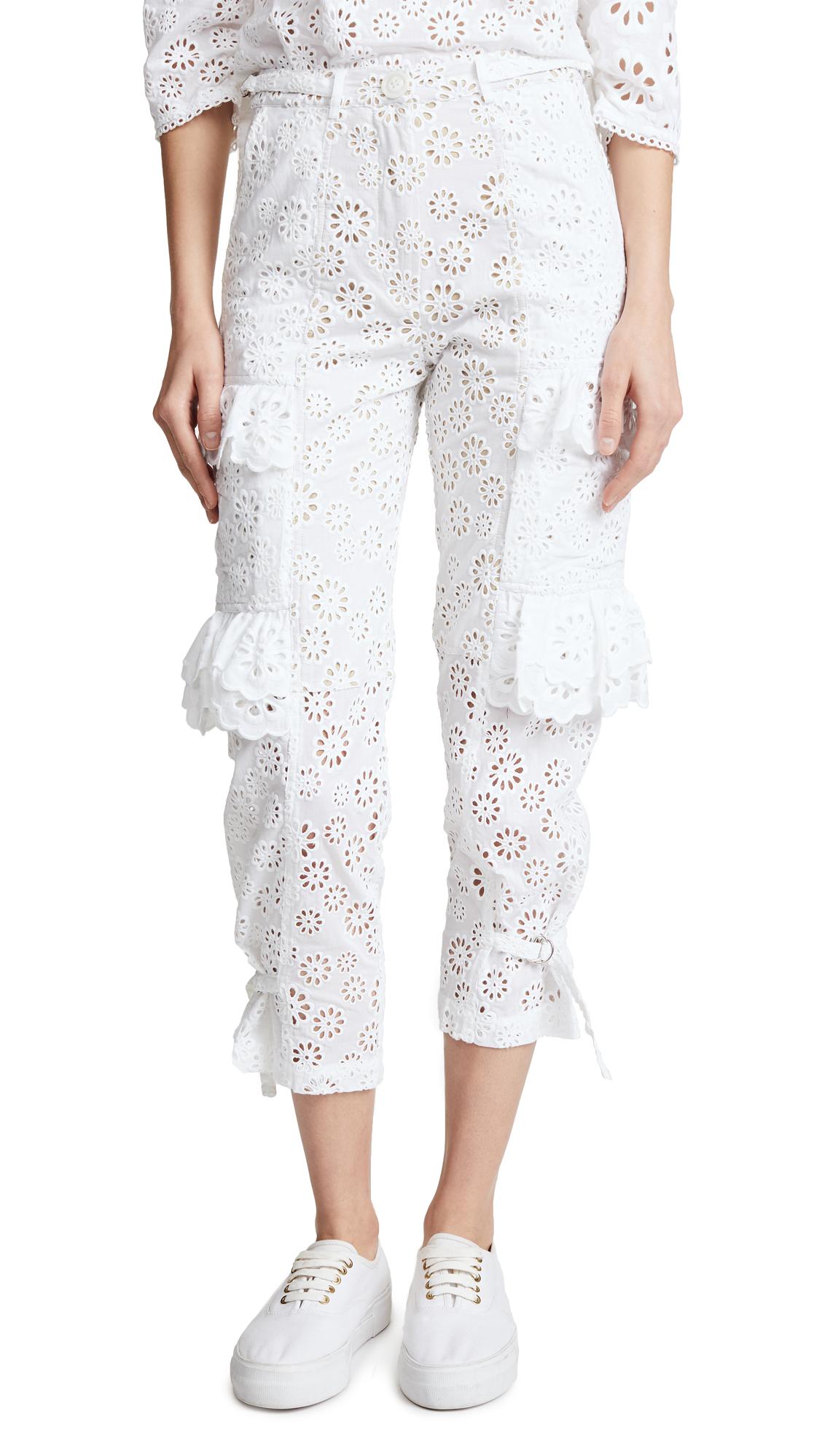 Sea Eyelet Cargo Pants
