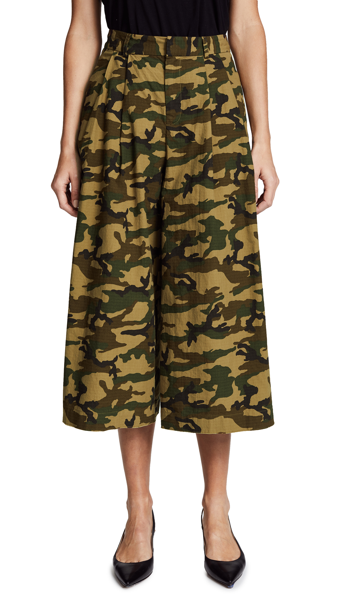 CAMO RELAXED PANTS