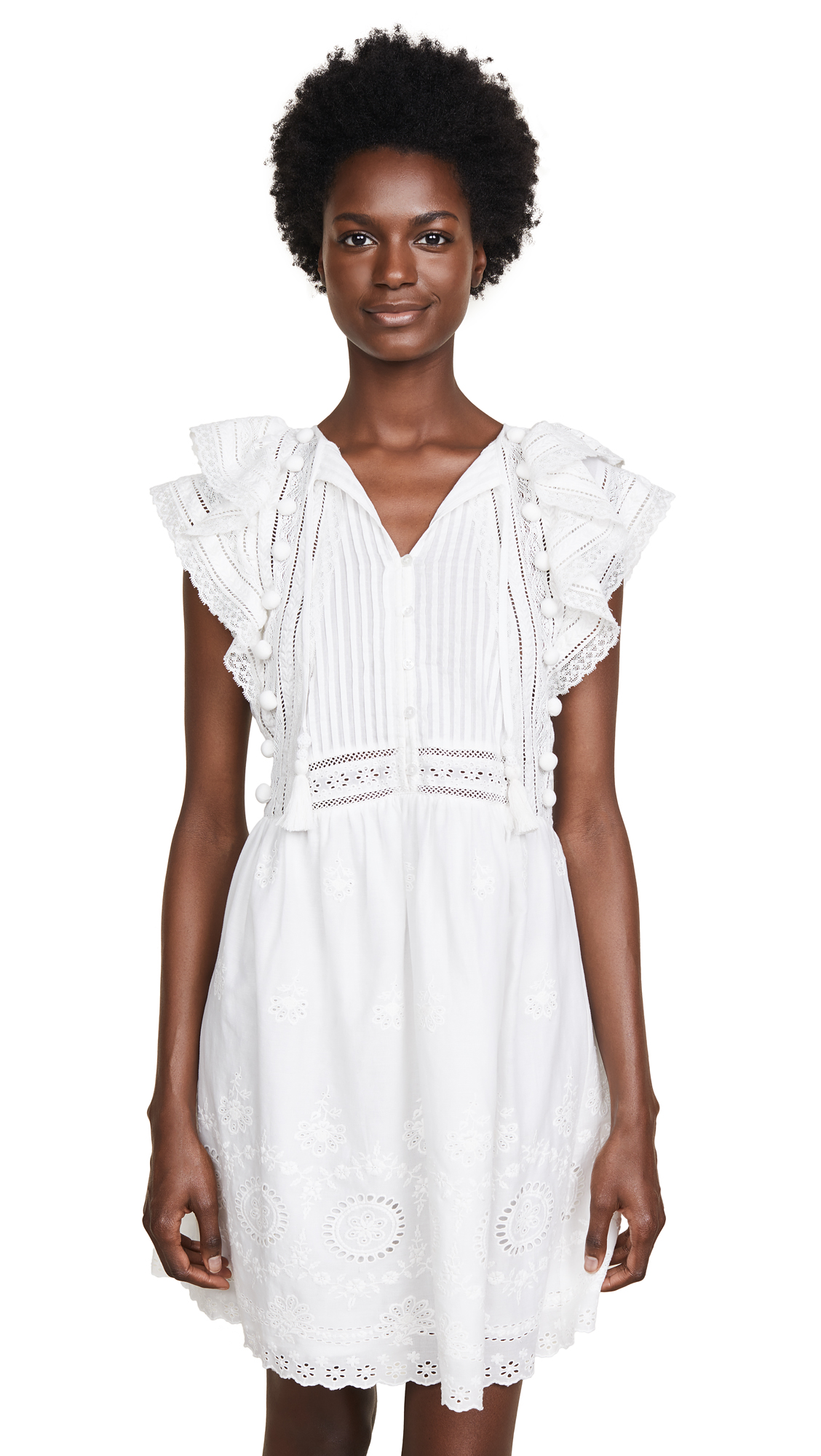 Sea Sophie Tunic Dress In Ivory