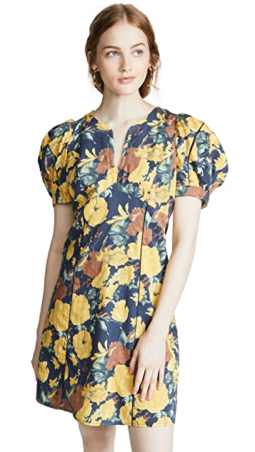 Sea Ella Puff Sleeve Dress