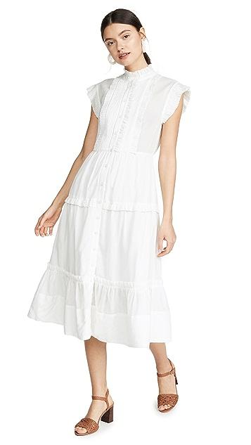 Sea Viola Sleeveless Midi Dress