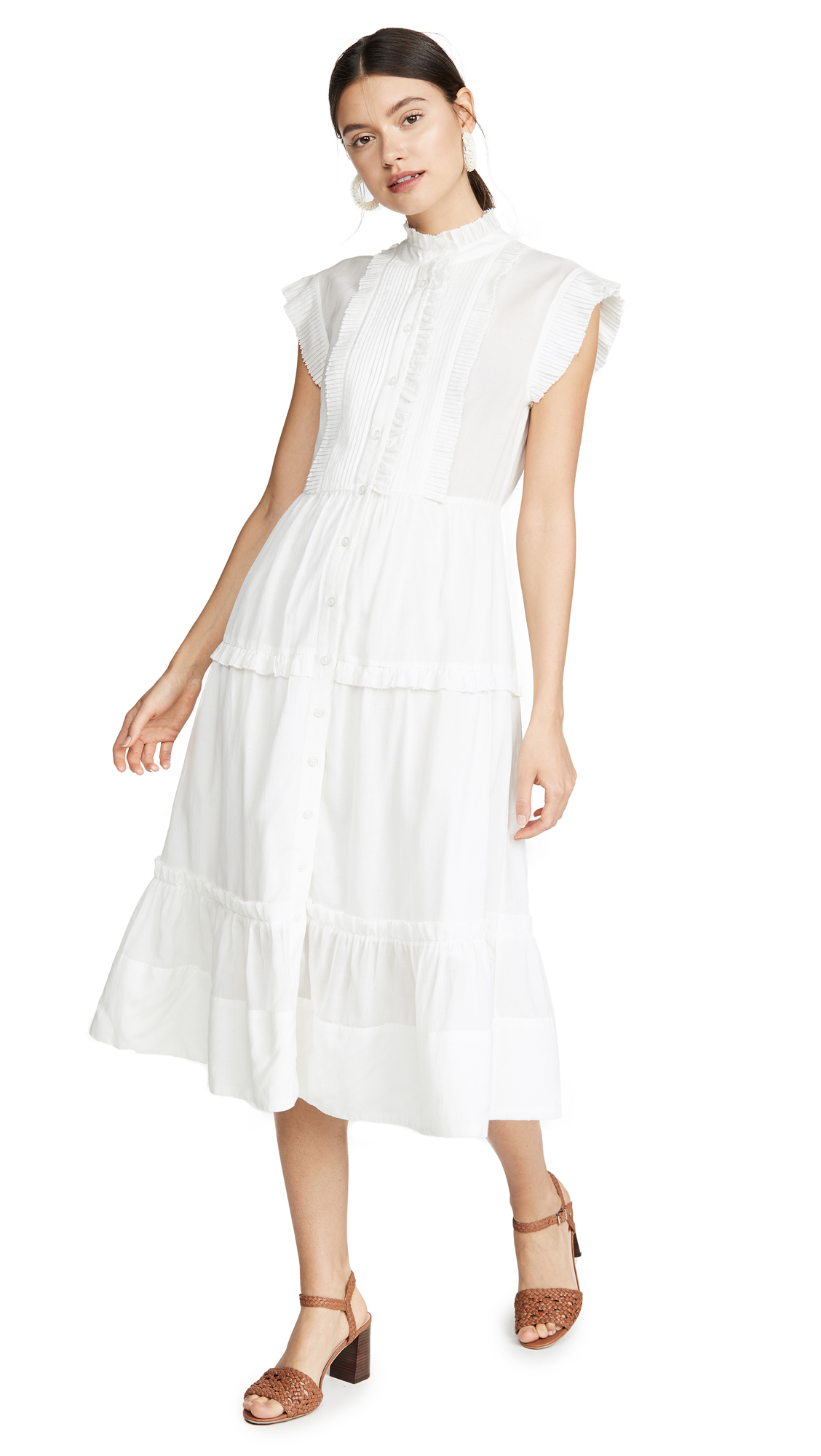 Buy Sea online - photo of Sea Viola Sleeveless Midi Dress