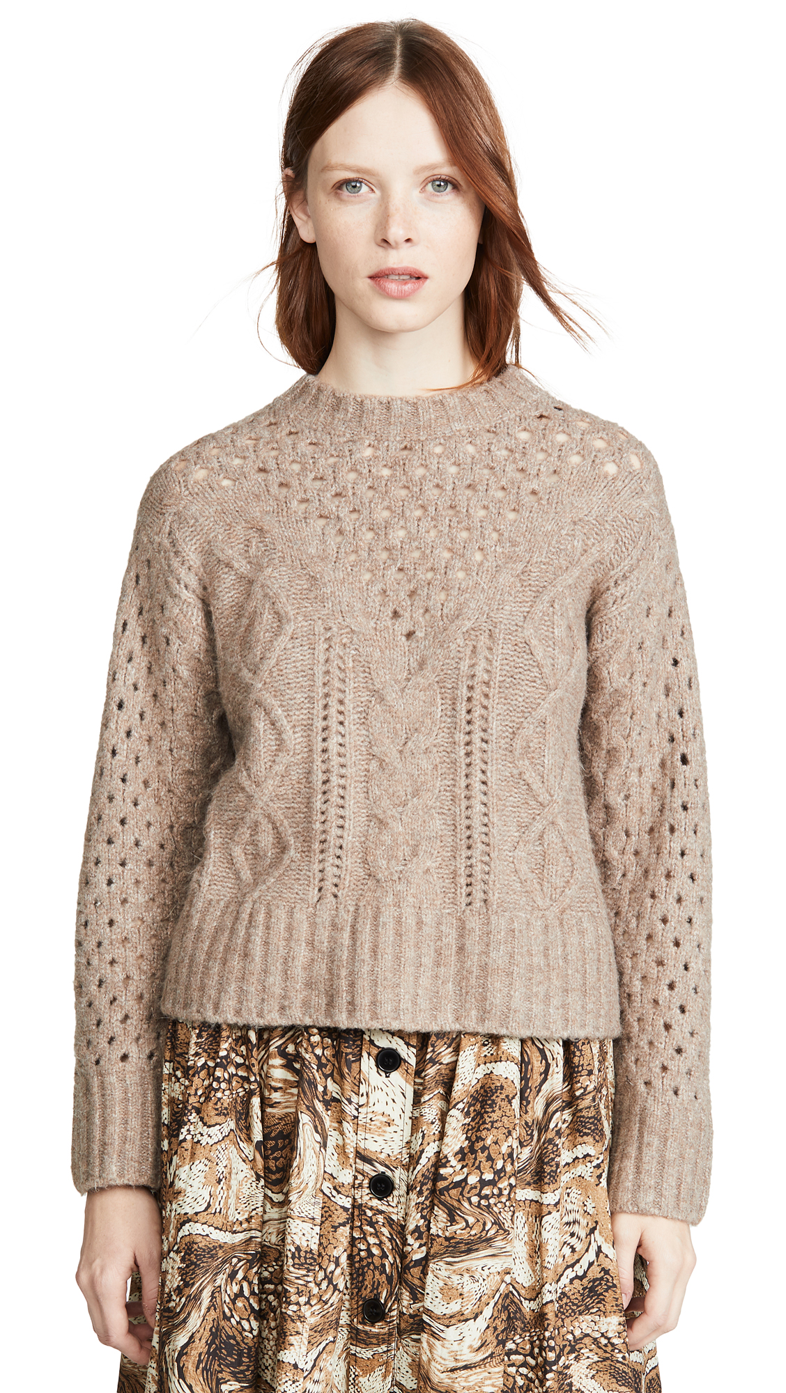 Buy Sea online - photo of Sea Cora Cable Sweater
