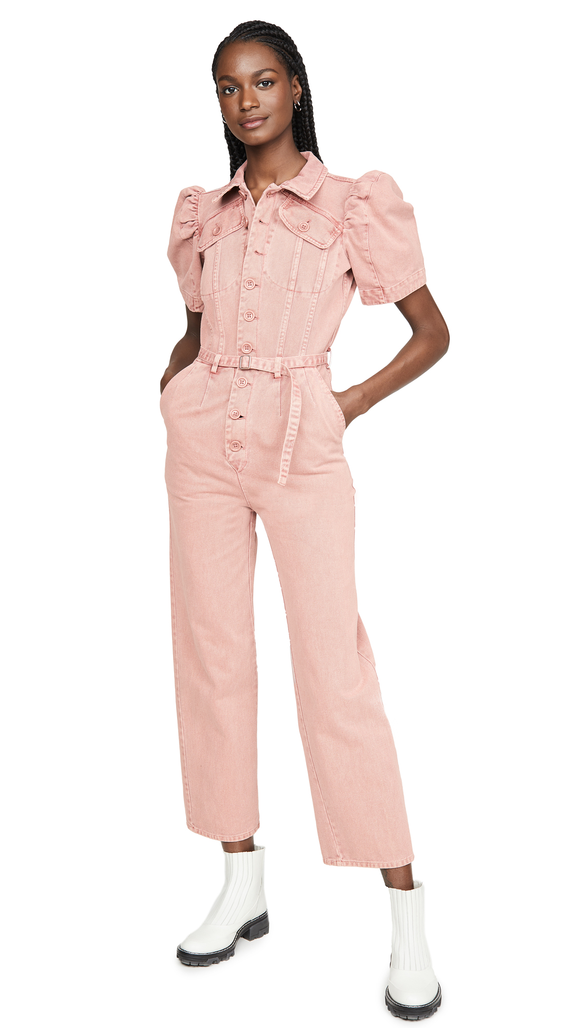 Buy Sea online - photo of Sea Corbin Short Sleeve Jumpsuit