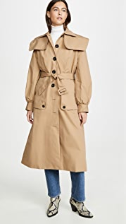 Sea Scott Trench Coat