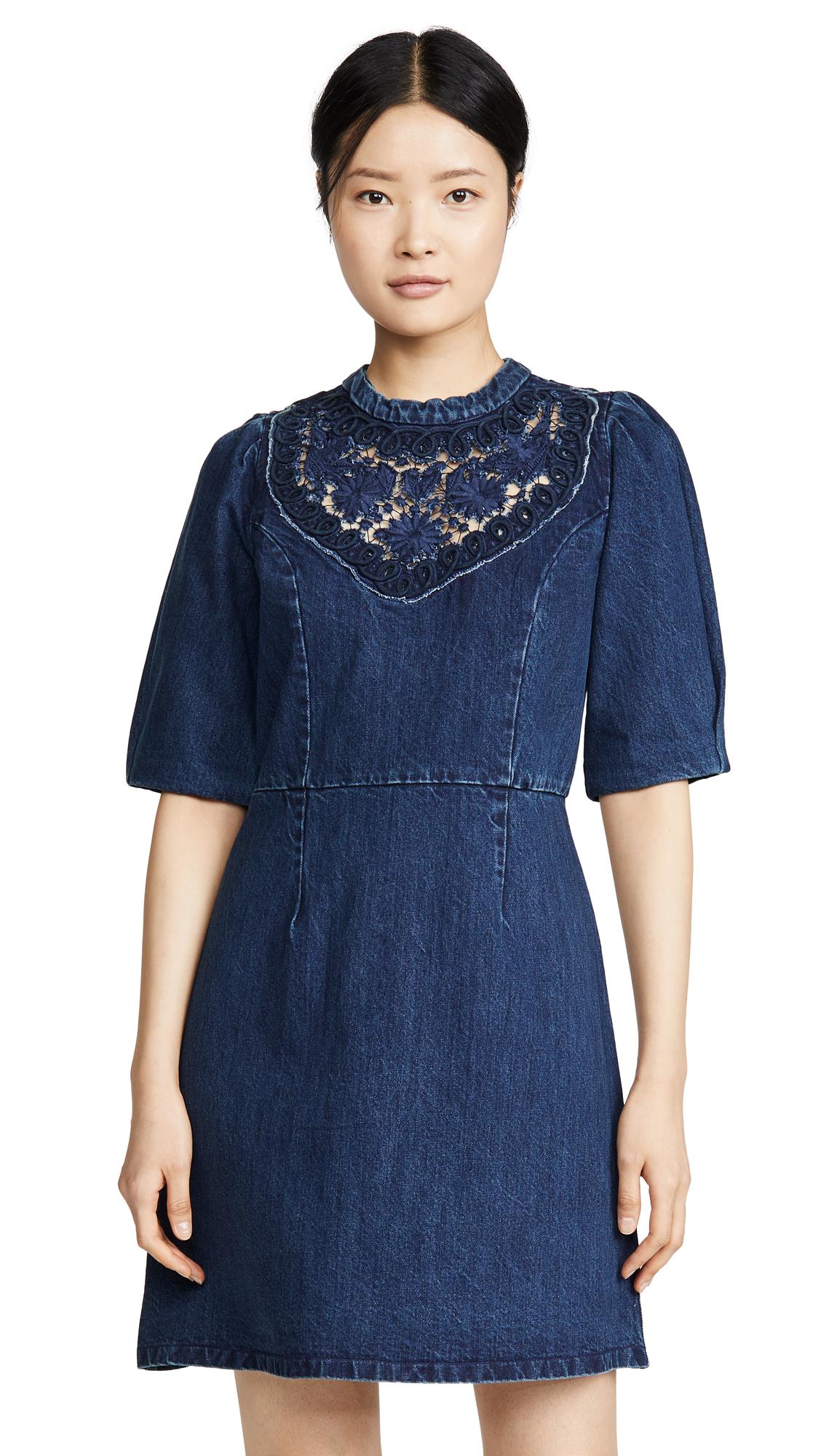 Buy Sea Olivia Denim Soutach Dress online beautiful Sea Clothing, Dresses
