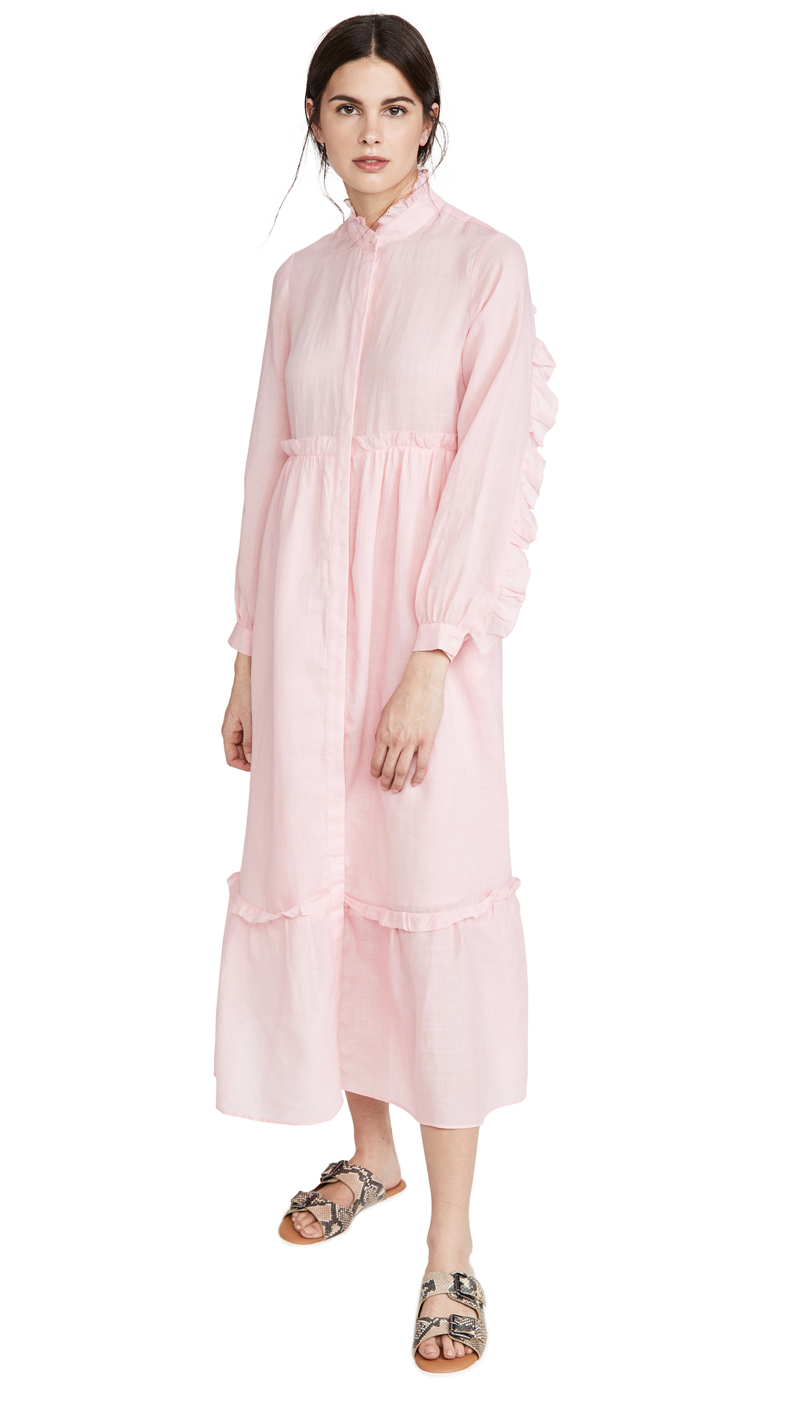 Sea Lucy Long Sleeve Maxi Dress - 30% Off Sale