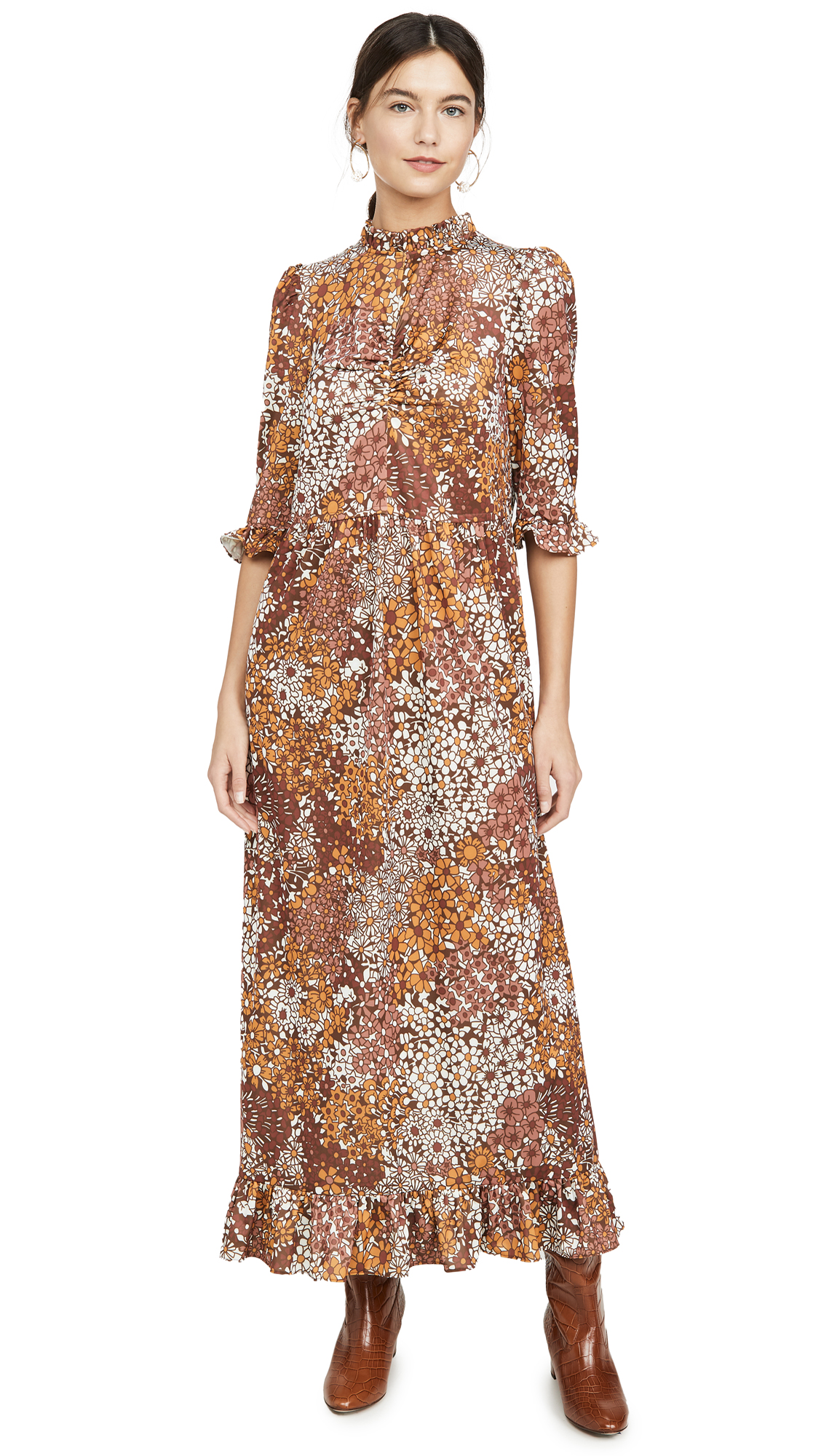 Buy Sea online - photo of Sea Floral Jersey Dress