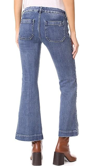 Seafarer Cropped Penelope Flare Jeans