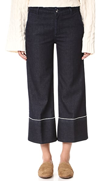 Seafarer Harry New Special Wide Leg Jeans - Dark Rinse