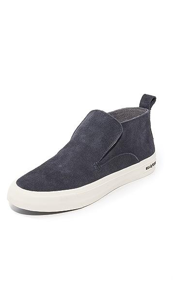 SeaVees 12/64 Huntington Mid Top Slip On Sneakers