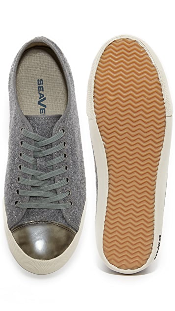 SeaVees 08/61 Army Issue Greyers Flannel Sneakers
