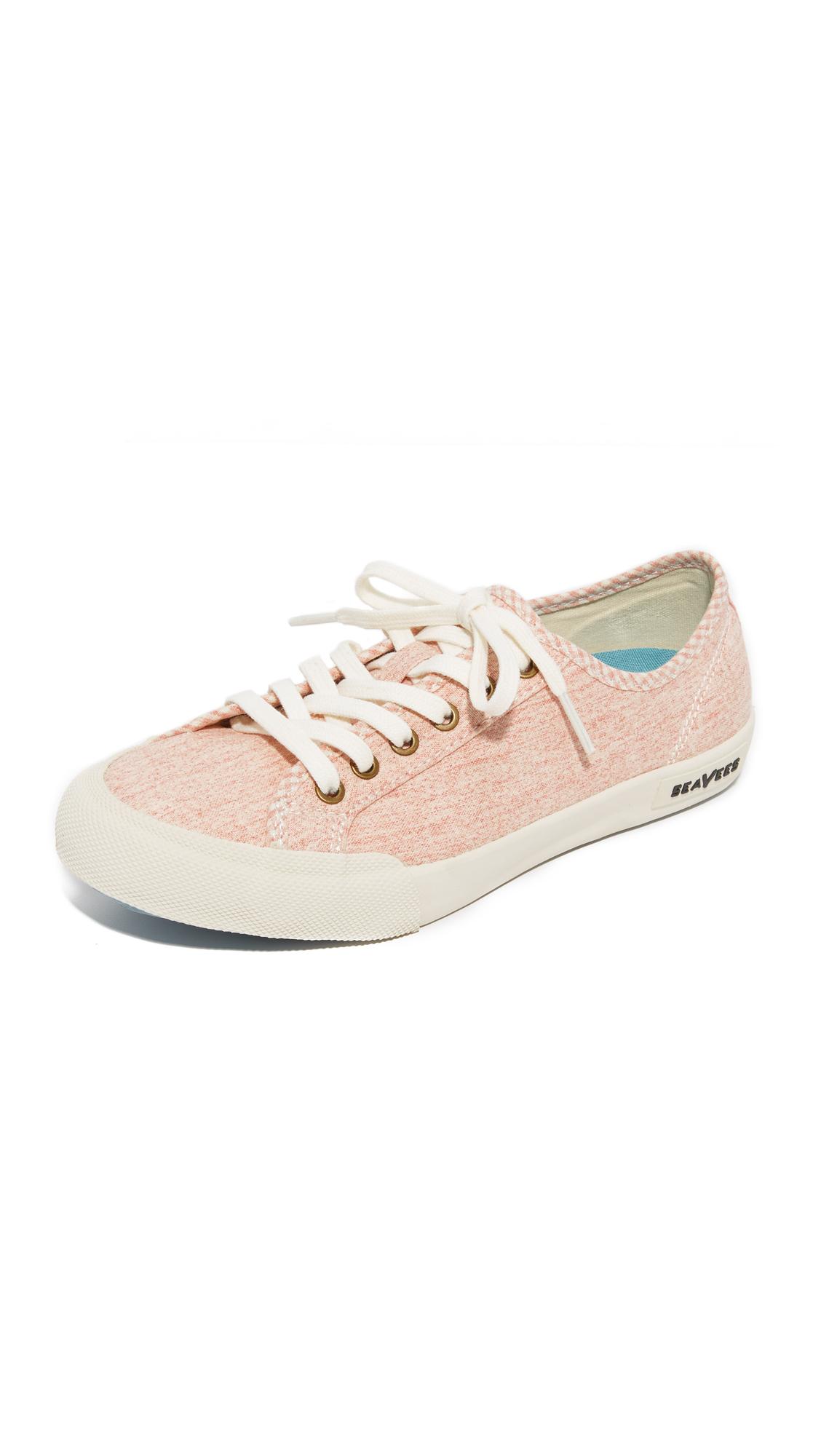 seavees female seavees monterey beach club sneakers pale pink