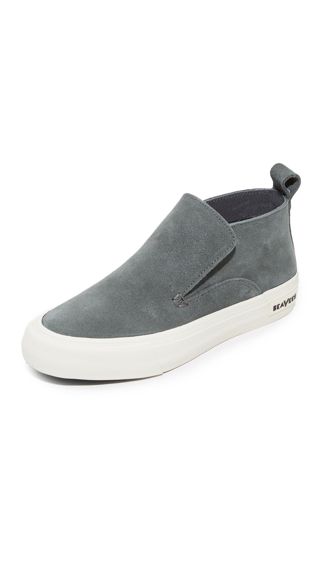 SeaVees Huntington Middie Sneakers - Greyboard