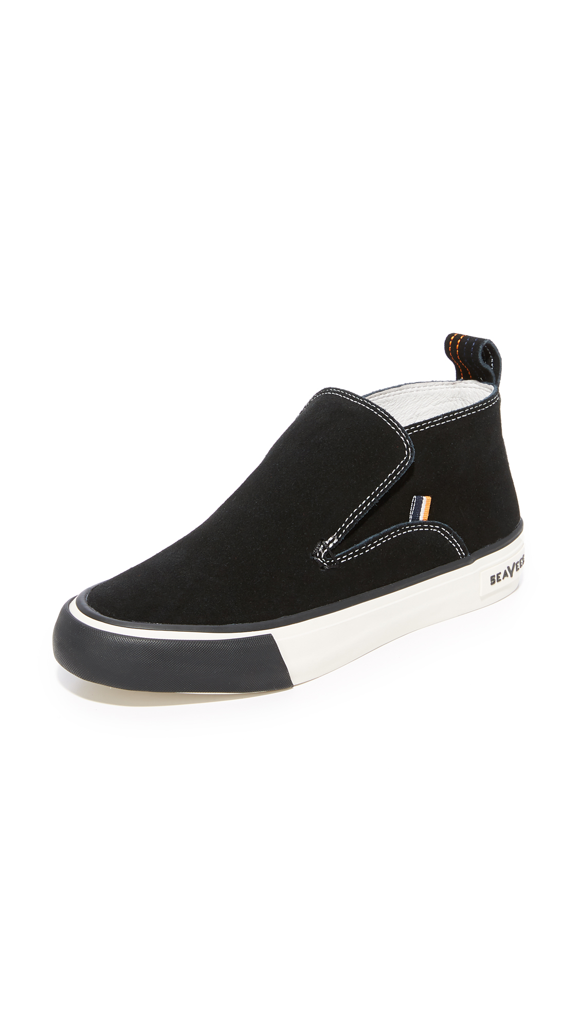SeaVees x Derek Lam 10 Crosby Huntington Middie Sneakers - Black