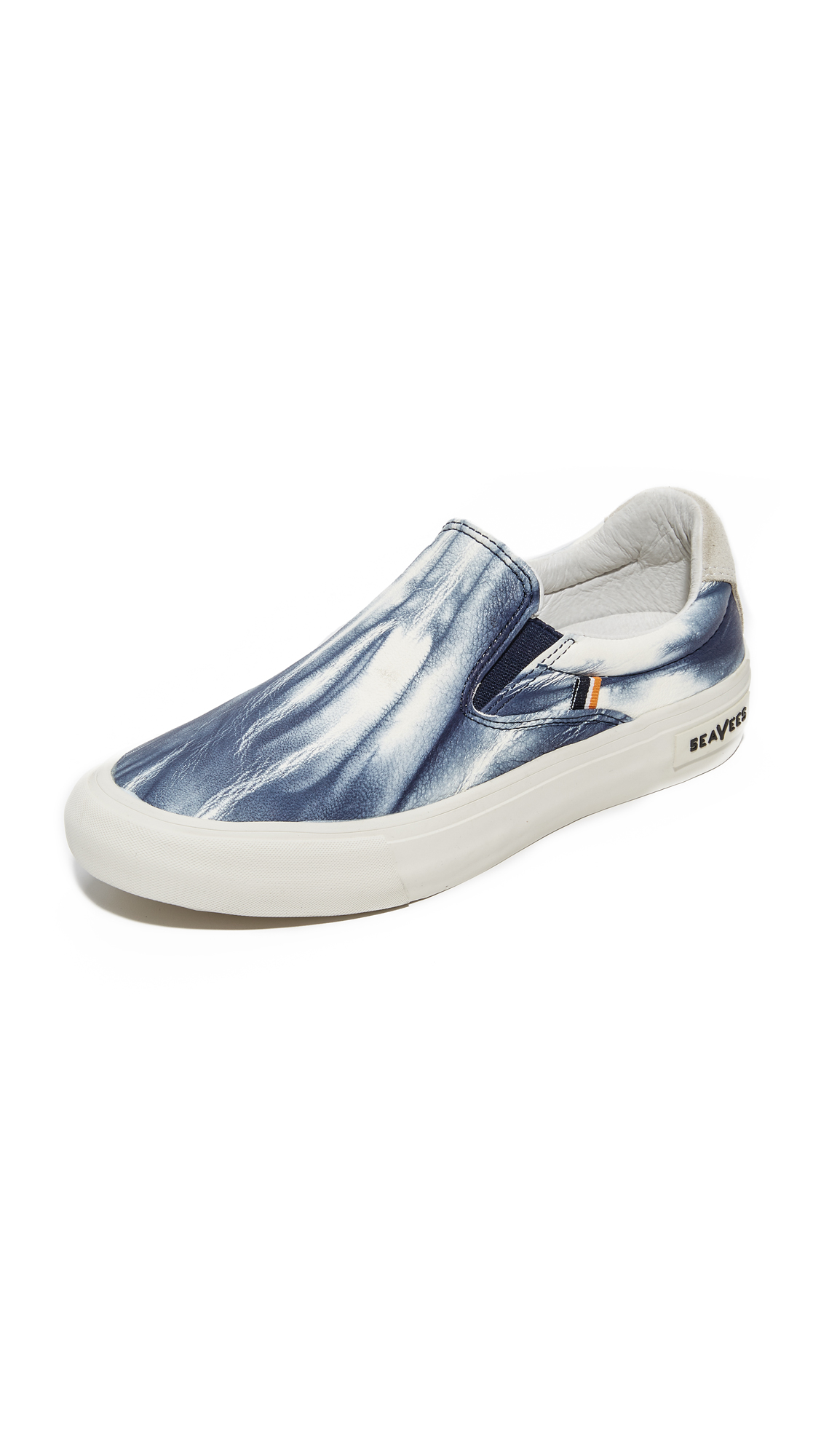 SeaVees x Derek Lam 10 Crosby Hawthorne Slip On Sneakers - Blue Tie Dye