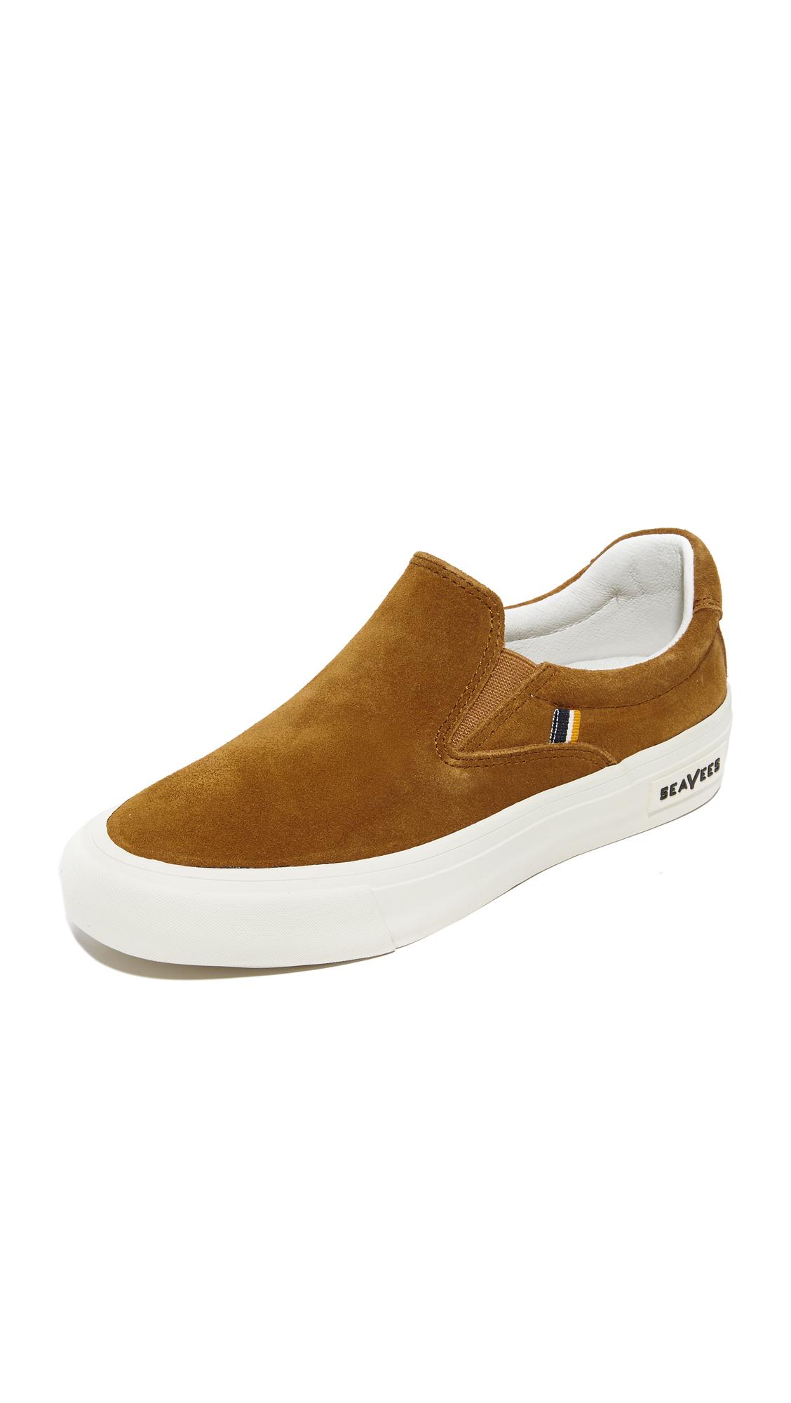 SeaVees x Derek Lam 10 Crosby Hawthorne Slip On Sneakers - Cognac