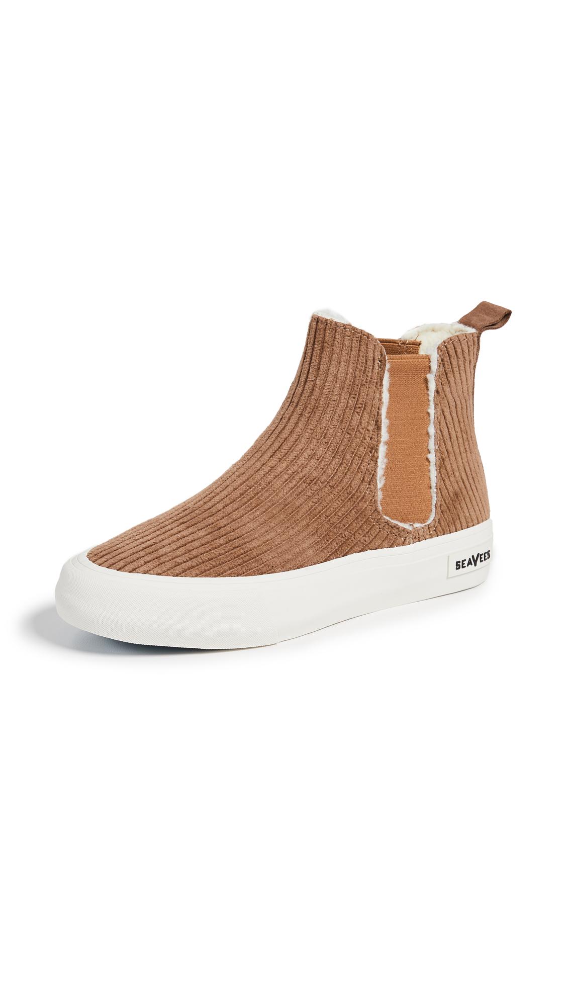 SeaVees Laguna Chelsea Boots - Whisky