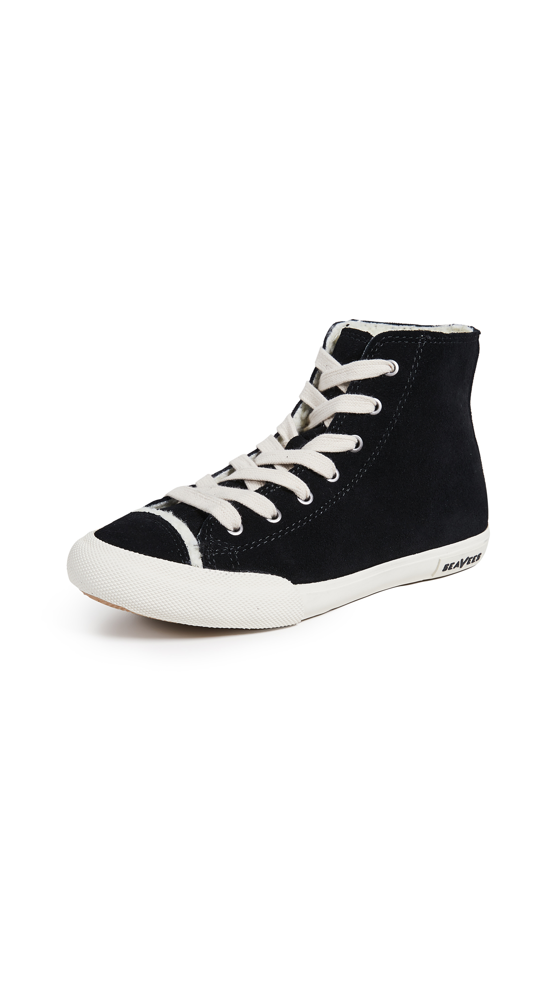 SeaVees Army Issue High Sneakers - Black
