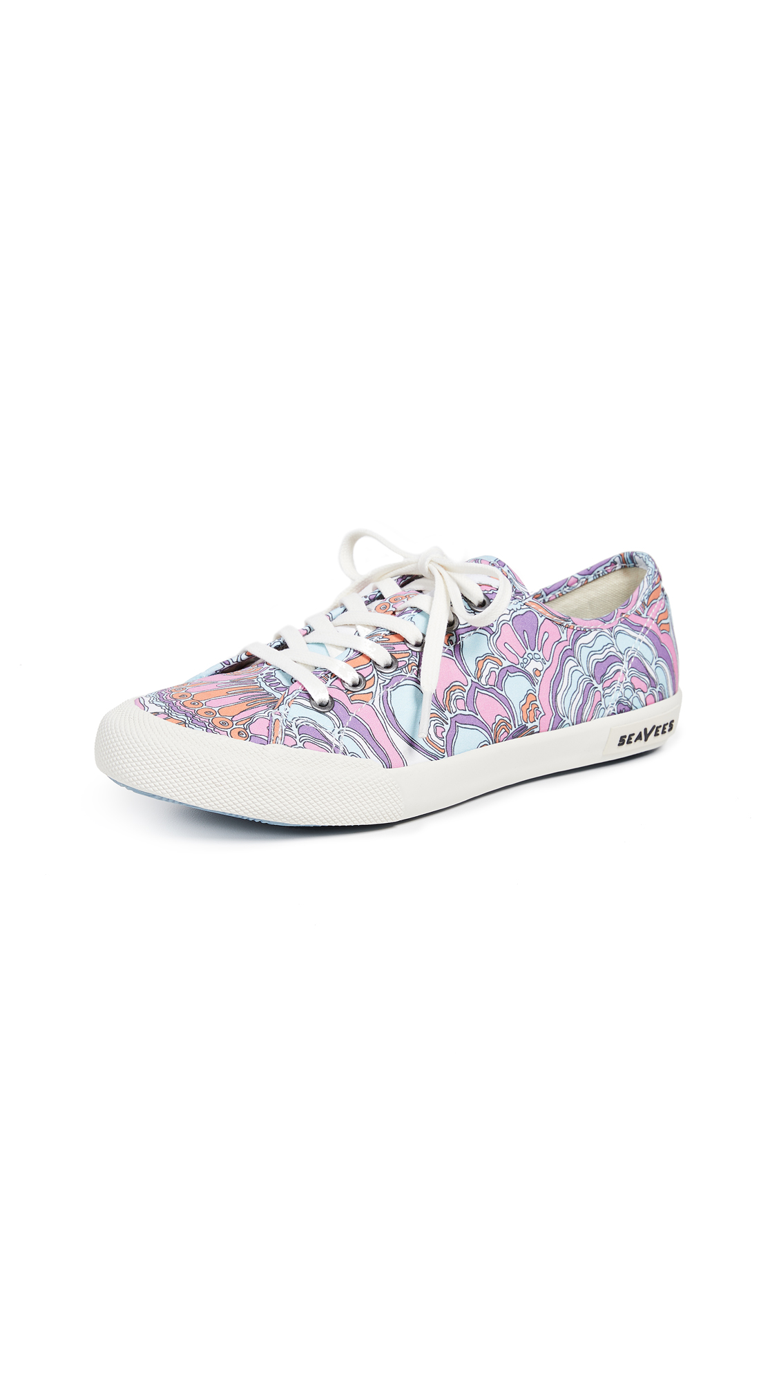 SeaVees Trina Turk Monterey Sneakers - Cosmo Bouquet