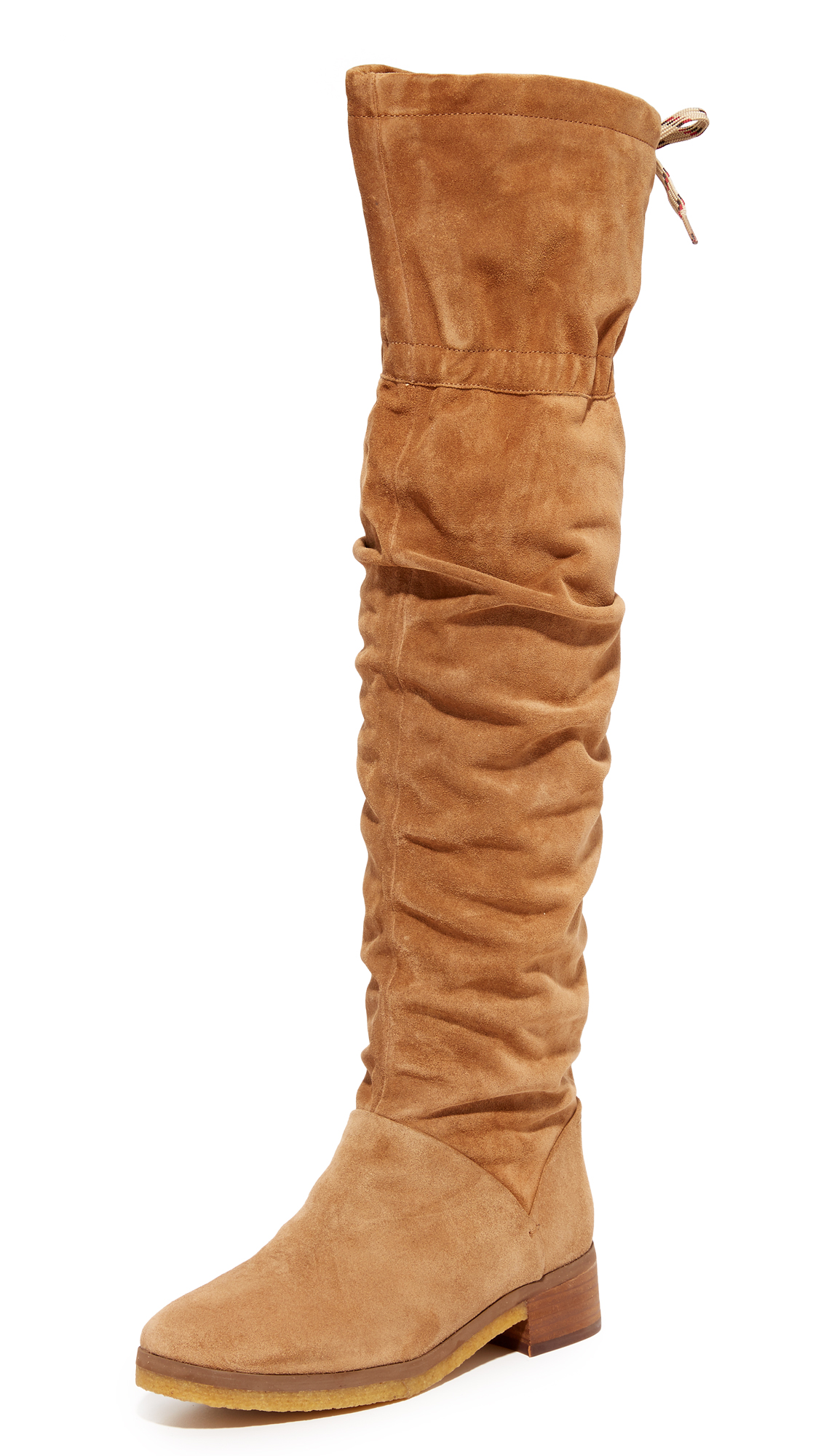 See By Chloe Jona Tall Over The Knee Boots - Stucco