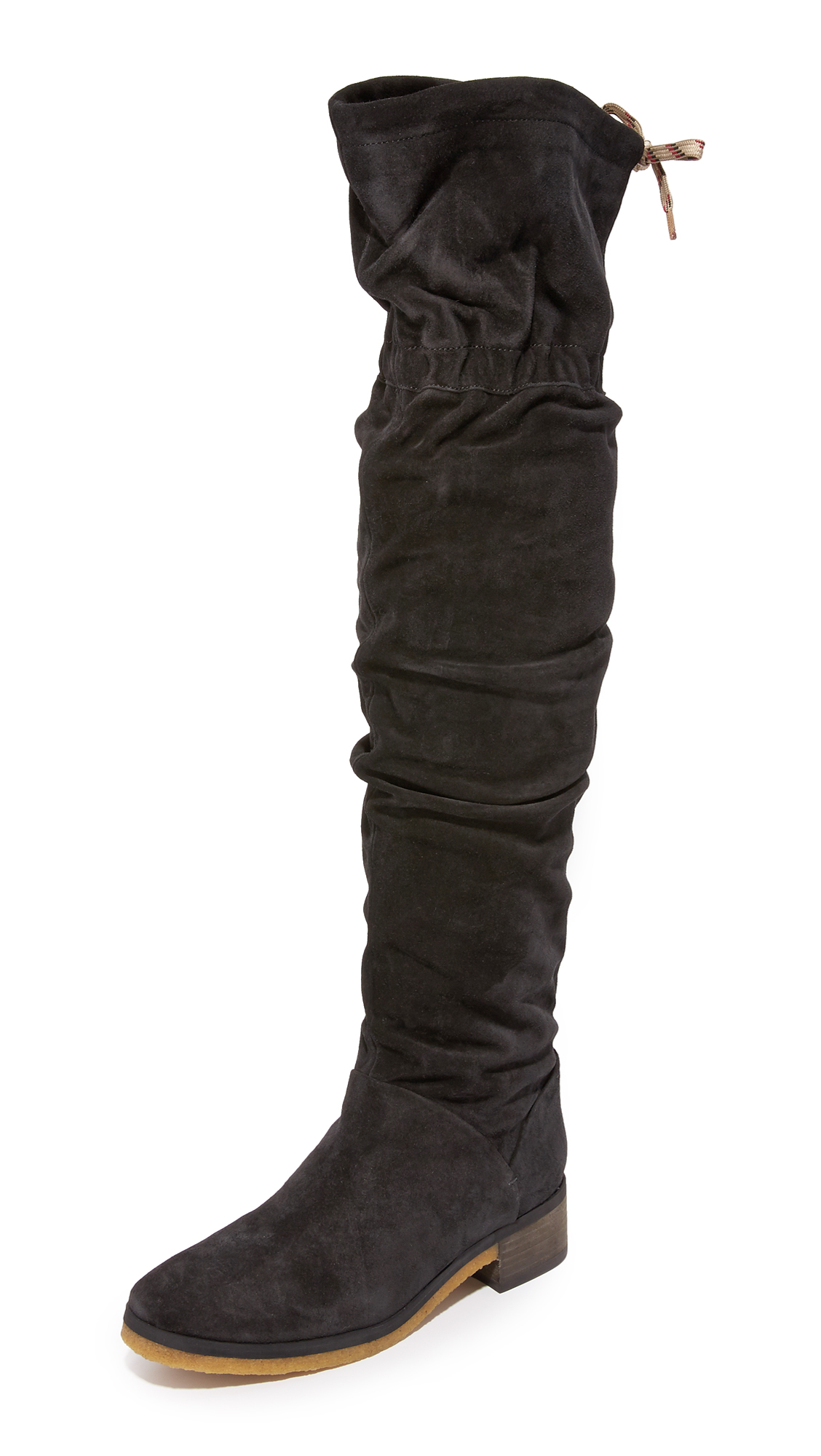 See By Chloe Jona Tall Over The Knee Boots - Black