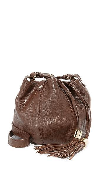 See by Chloe Vicki Mini Bucket Bag - Chocolate