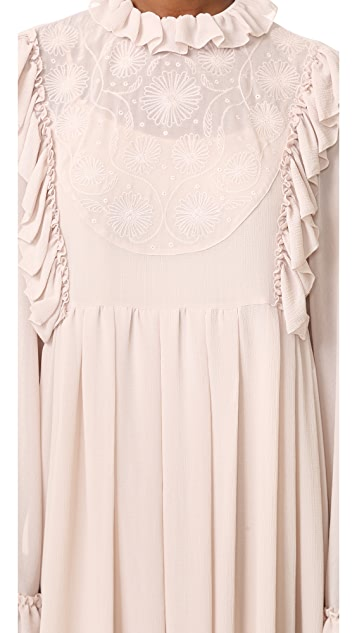 See by Chloe Ruffle Dress