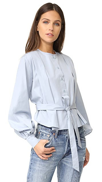 See by Chloe Embellished Poplin Blouse