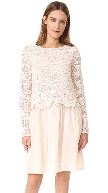 See by Chloe Lace Long Sleeve Dress