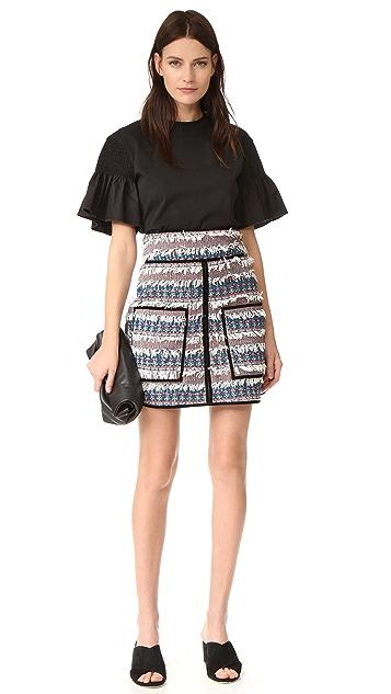 See by Chloe Tweed Skirt