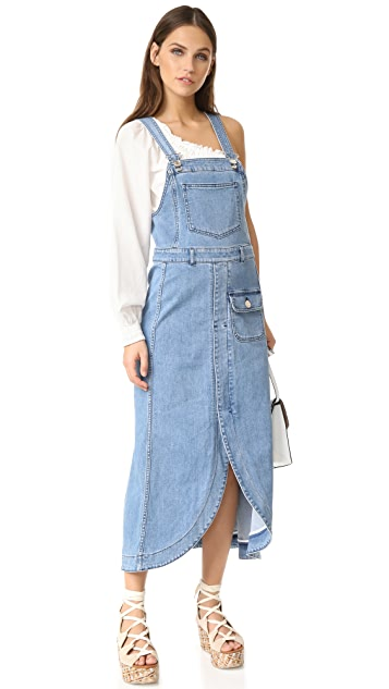 See by Chloe Denim Pocket Dress