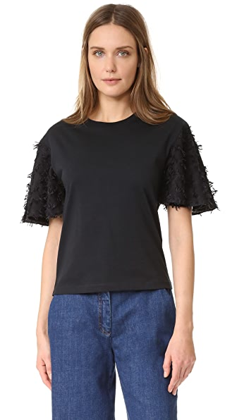 See by Chloe Embellished Tee - Black
