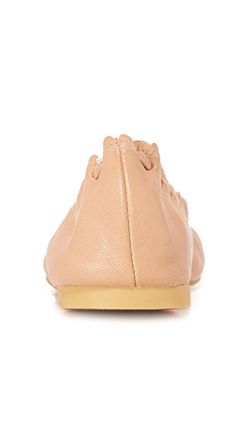 See by Chloe Scallop Ballet Flats
