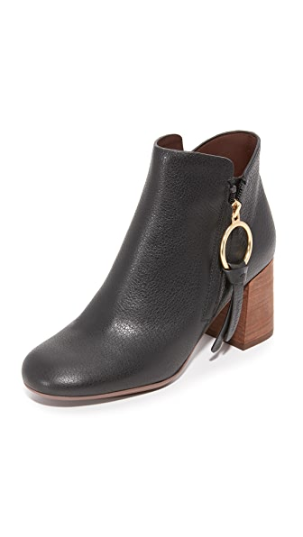 See by Chloe Howl Booties - Nero