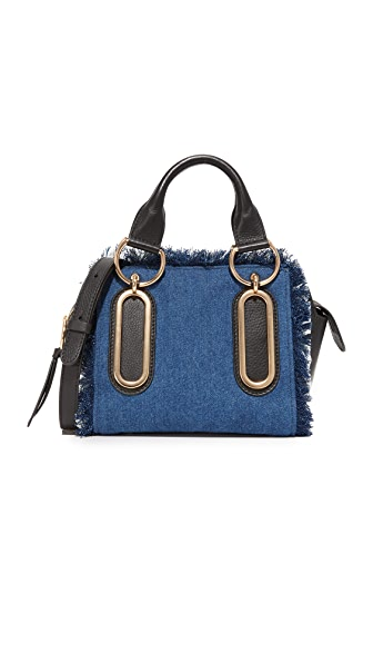 See by Chloe Paige Denim Satchel