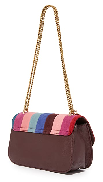 See by Chloe Patchwork Lois Shoulder Bag