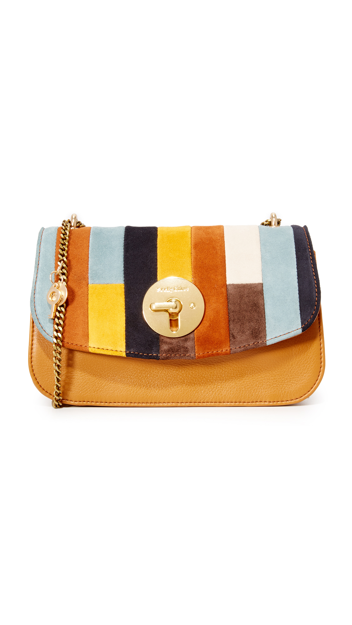 0f81291d See By Chloe Lois Suede Shoulder Bag