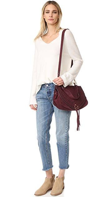 See by Chloe Collins Large Saddle Bag